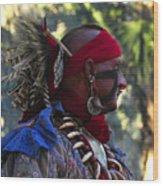 Seminole Warrior Wood Print