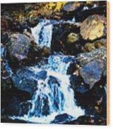 Serene Waters Wood Print