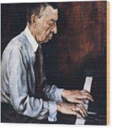 Sergei Rachmaninoff Wood Print