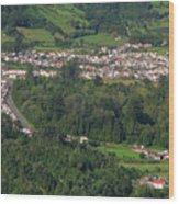 Sete Cidades - Azores Wood Print