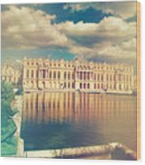 Shabby Chic Versailles Palace Gardens Wood Print