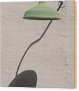 Shadow Lamp Wood Print