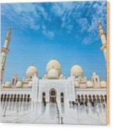 Sheikh Zayed Grand Mosque Wood Print
