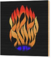 Shema Yisrael Art. Wood Print