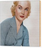 Shirley Eaton, Carry On Films Cast 1 Wood Print