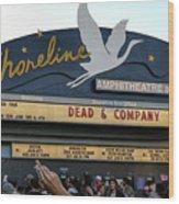Shoreline Amphitheatre - Dead And Company Wood Print