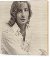 Singer Barry Manilow 1975 Wood Print