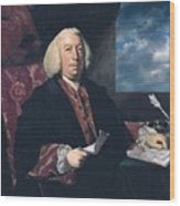 Sir James Hodges Wood Print