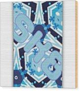 SK8 Wood Print