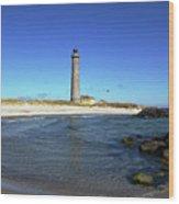 Skagen Denmark - Lighthouse Grey Tower Wood Print