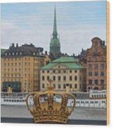Skeppsholmsbron - Stockholm Wood Print