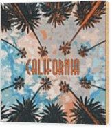 Skies Of California Wood Print