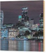 Skyline Of London Wood Print