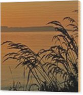 Sleeping Giant Sunrise Wood Print