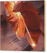 Slot Canyon Wood Print