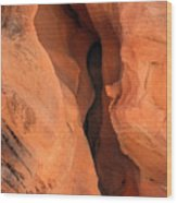 Slot Cave Valley Of Fire Wood Print