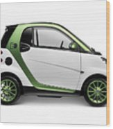 Smart Fortwo Electric Drive Wood Print