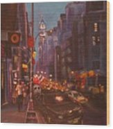 Soho Artistic Dreams Wood Print
