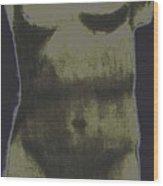 Solar Aphrodite Wood Print