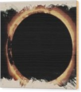 Solar Eclipse 2017 3 Wood Print