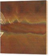 Solar Haze Wood Print