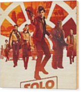 Solo A Star Wars Story Wood Print