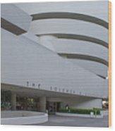 Solomon S Guggenheim Museum Wood Print