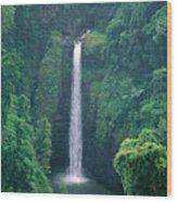 Sopoaga Falls Wood Print