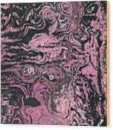 Soul Felt Wood Print