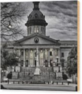 South Carolina State House Wood Print