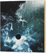 Space Wood Print