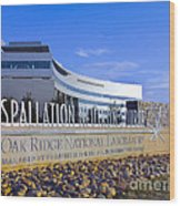 Spallation Neutron Source Wood Print