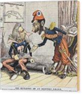 Spanish-american War, 1898 Wood Print