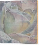 Sparkler Wood Print