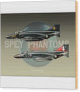 Spey Phantoms Wood Print