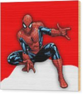 Spiderman Collection Wood Print