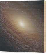 Spiral Galaxy Ngc 2841 Wood Print