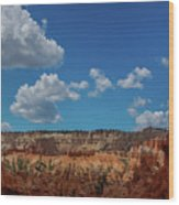 Spires Of Bryce Canyon Wood Print