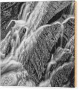 Spring Cascades #3 Wood Print
