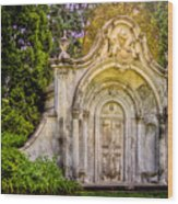 Spring Grove Mausoleum Wood Print