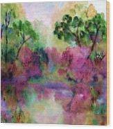 Spring Time In Alabama Wood Print