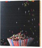 Sprinkles Wood Print