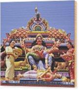 Sri Krishnan Temple Wood Print