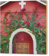 St. Anthony's Church Wood Print