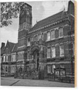 St Helens Town Hall Uk Wood Print