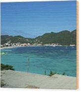 St. Marrten Caribbean Island Wood Print