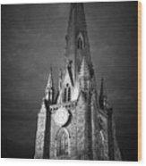St Martin Church In The Bullring Birmingham England Uk Wood Print
