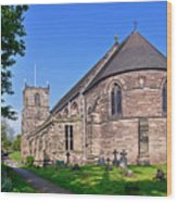 St Mary's Church - Tutbury Wood Print