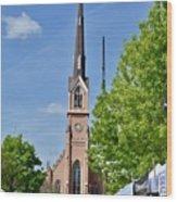 St. Matthew's German Evangelical Lutheran Church Wood Print