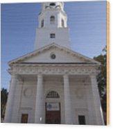 St Michaels Church Charleston Sc Wood Print
